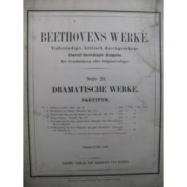 BEETHOVEN Die Ruinen von Athen Marsch und Chor Orchestre XIXe