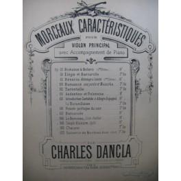 DANCLA Charles Romance et Boléro Violon Piano XIXe