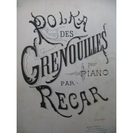 RECAR Polka des Grenouilles Piano