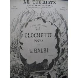 BALBI Louis La Clochette Piano