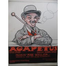KELLER Max Agapetus Piano 1917