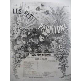 MAITHUAT L. Les Petits Papillons No 6 La Musette Provençale Piano XIXe siècle