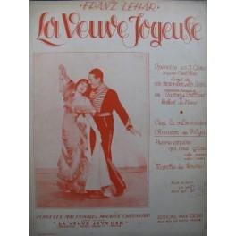 LEHAR Franz La Veuve Joyeuse No 7 Chanson de Vilya Chant Piano 1909