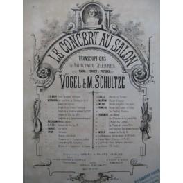 BACH J. S. Gavotte célèbre No 1 Piano Violon ou Flûte XIXe