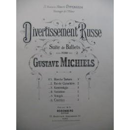 MICHIELS Gustave Divertissement Russe Piano