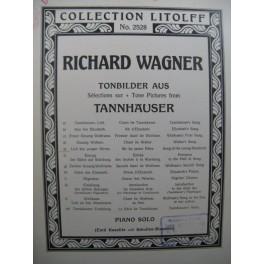 WAGNER Richard Lied des Jungen Hirten Piano