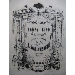 WALLERSTEIN A. Jenny Lind Piano ca1852