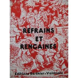 Refrains et Rengaines 200 Pièces pour Chant 1991