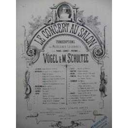 BEETHOVEN Thème varié de la Sérénade Piano Violon ou Flûte XIXe