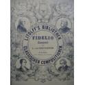 BEETHOVEN Fidelio Opera Piano solo