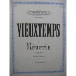 VIEUXTEMPS Henri Rêverie op 22 No 3 Violon Piano