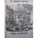 HENRION Paul Le Jardin d'Hiver Piano ca1850