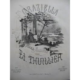 THUILLIER Edmond Graziella Piano XIXe siècle
