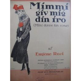 ROSI Eugène Mimmi giv mig din iro Piano