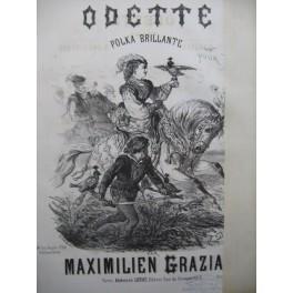 GRAZIANI Maximilien Odette Piano ca1870