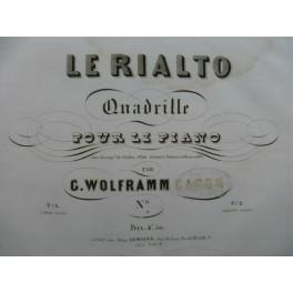 WOLFRAMM C. Le Rialto Piano ca1845