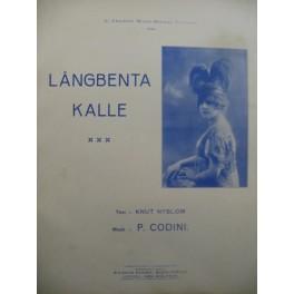 CODINI P. Langbenta Kalle Piano