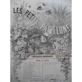MAITHUAT L. Les Petits Papillons No 8 Ecousto D'Jeannetto Piano XIXe siècle