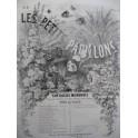 MAITHUAT L. Les Petits Papillons No 9 Ah Mon Beau Chateau Piano XIXe siècle