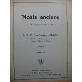 LEGEAY Georges Noëls Anciens Chant Piano 1928