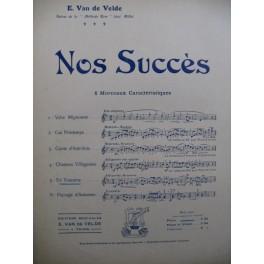 VAN DE VELDE Ernest En Touraine Piano