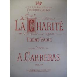 CARRERAS Arthur La Charité piano