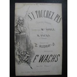 WACHS F. N'y Touchez Pas Chanson