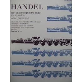 HAENDEL G. F. 13 Pièces für Querflöte Flûte à bec