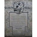 Album Musica No 116 Piano ou Chant Piano ou Piano 4 mains 1912