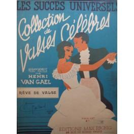 VAN GAEL Henri Rêve de Valse Piano 1942