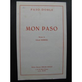 Mon Paso Gérard Bordes Accordéon