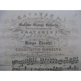ROSSINI G. Cavatina Di piacer mi balza il cor Chant Piano XIXe