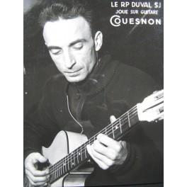 RP DUVAL SJ Photo Guitare Couesnon