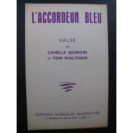 L'Accordéon Bleu Valse Quinzin Waltham Accordéon 1961