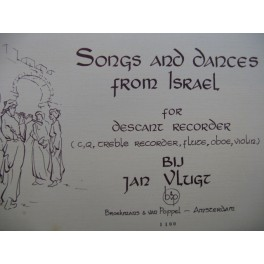 Songs and Dances from Israel Recorder Flûte à bec