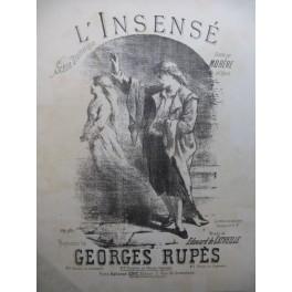 RUPES Georges L'Insensé Piano XIXe siècle