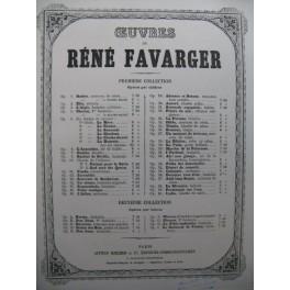 FAVARGER René Oberon Piano XIXe siècle