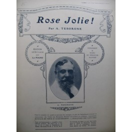 TESORONE A. Rose Jolie Piano
