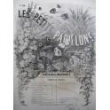 CARON G. W Les Petits Papillons No 14 Au Clair de la Lune Piano XIXe siècle