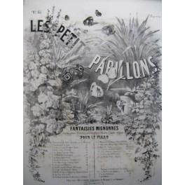 CARON G. W. Les Petits Papillons No 19 La Bonne Aventure ö Gué Piano XIXe siècle