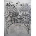 CARON G. W. Les Petits Papillons No 20 Le Roi d'Yvetot Piano XIXe siècle