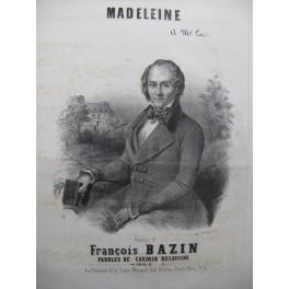 BAZIN François Madeleine Piano Chant XIXe siècle