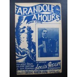 Farandole des Amours Louis Peguri Accordéon