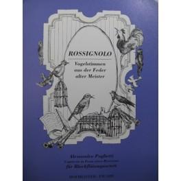POGLIETTI Alessandro Rossignolo Quatuor de Flûtes à bec