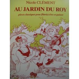 Au Jardin du Roy Pièces Classiques Flûte à bec Piano 1987