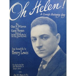 LEWIS Henry Oh Helen Piano Chant 1918