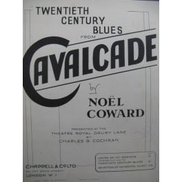 COWARD Noël 20th Century Blues Piano Chant 1931