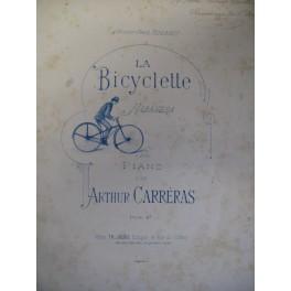 CARRERAS Arthur La Bicyclette Habanera piano