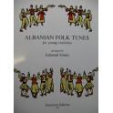 Albian Folk Tunes Violon 1996