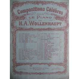 Wollenhaupt H. A. Valse Styrienne Op. 27 n° 2